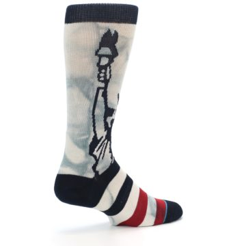 Image of Lady Liberty Men's Casual Socks (side-1-23)
