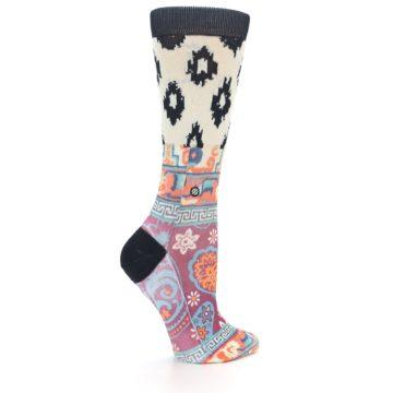 Image of Multi Eastern Paisley Women's Casual Socks (side-1-23)