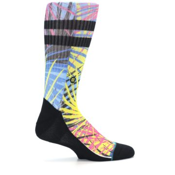 Image of Multi Color Splatter Men's Casual Socks (side-1-24)