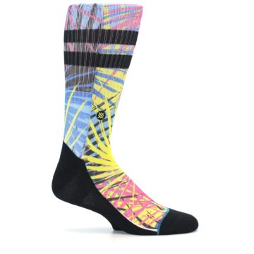 Image of Multi Color Splatter Men's Casual Socks (side-1-25)