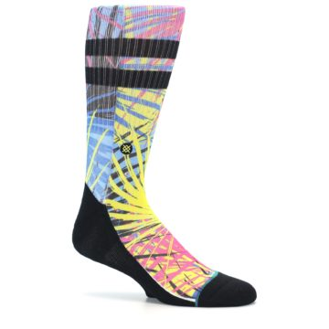 Image of Multi Color Splatter Men's Casual Socks (side-1-26)