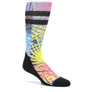 Image of Multi Color Splatter Men's Casual Socks (side-1-27)