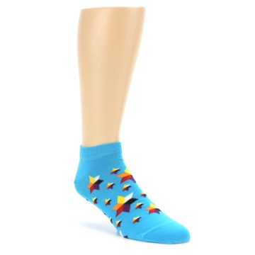 Ballonet Ankle Socks for Men with Stars on them