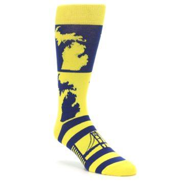 University of Michigan Inspired Socks for Men