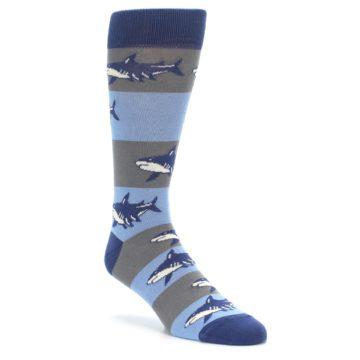 Great White Shark Socks for Men by boldSOCKS