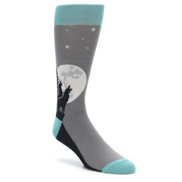 Wolves Howling at the Moon Socks for Men