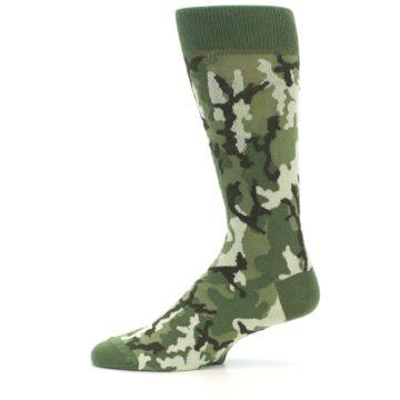 Image of Greens Camouflage Men's Dress Socks (side-2-11)