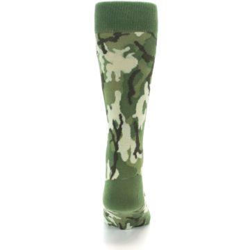 Image of Greens Camouflage Men's Dress Socks (back-18)