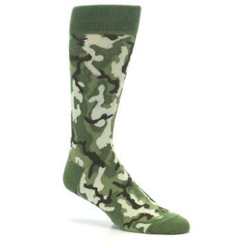 Image of Greens Camouflage Men's Dress Socks (side-1-26)