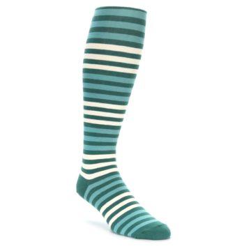 Teal Over the Calf Socks for Men