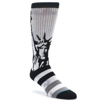 STANCE Lady Liberty Men's Socks in Grey