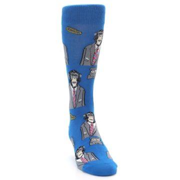 Image of Blue Monkey Business Men's Dress Socks (front-04)