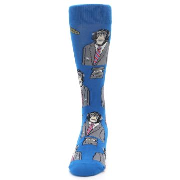 Image of Blue Monkey Business Men's Dress Socks (side-2-front-06)