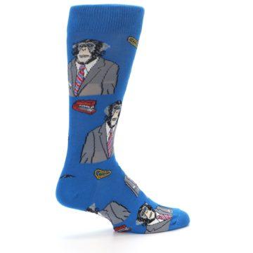 Image of Blue Monkey Business Men's Dress Socks (side-1-23)