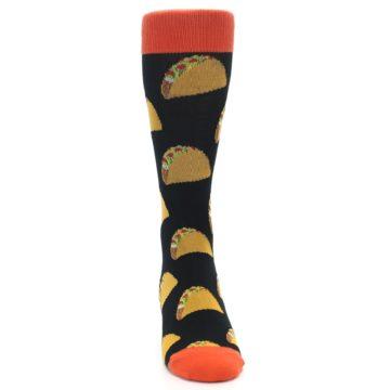 Image of Black Tacos XL Men's Dress Socks (front-04)