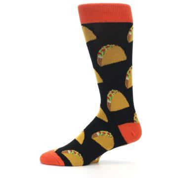 Image of Black Tacos XL Men's Dress Socks (side-2-11)