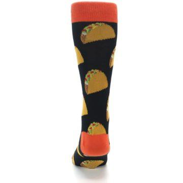 Image of Black Tacos XL Men's Dress Socks (back-17)