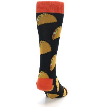 Image of Black Tacos XL Men's Dress Socks (back-19)