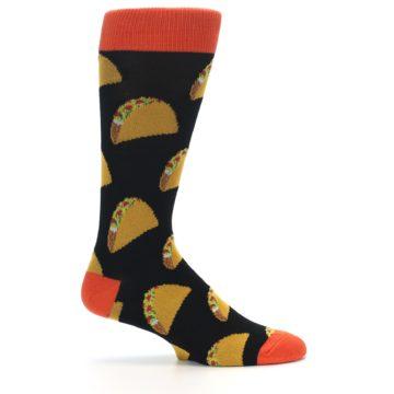 Image of Black Tacos XL Men's Dress Socks (side-1-24)