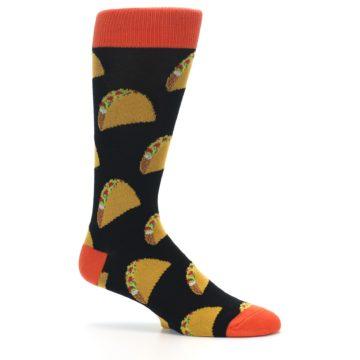 Image of Black Tacos XL Men's Dress Socks (side-1-25)