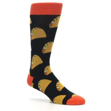 Image of Black Tacos XL Men's Dress Socks (side-1-26)