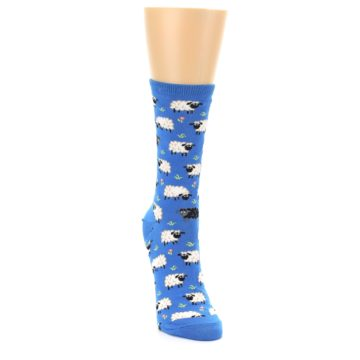 Image of Blue Sheep Women's Dress Socks (side-1-front-03)