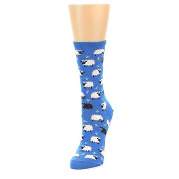 Image of Blue Sheep Women's Dress Socks (side-2-front-07)