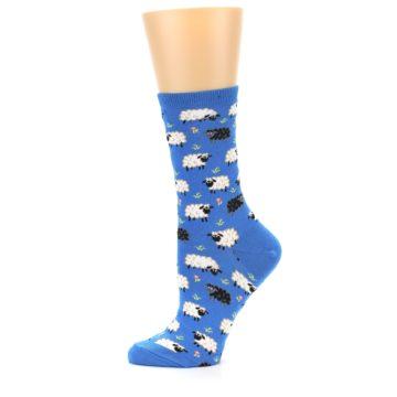 Image of Blue Sheep Women's Dress Socks (side-2-11)