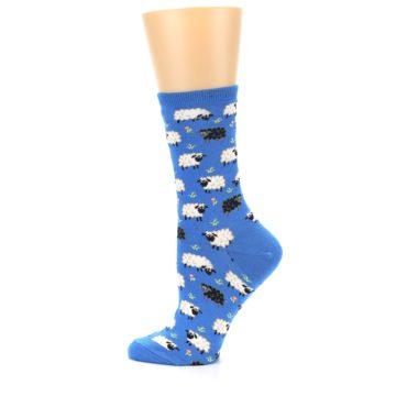 Image of Blue Sheep Women's Dress Socks (side-2-12)