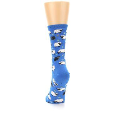 Image of Blue Sheep Women's Dress Socks (back-17)