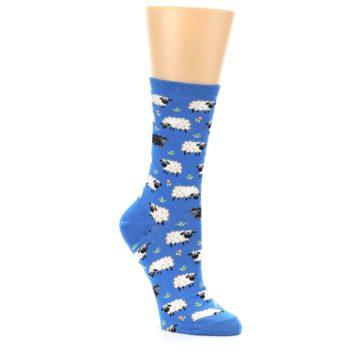 Image of Blue Sheep Women's Dress Socks (side-1-27)