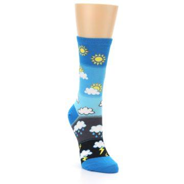 Image of Blue Weather Women's Dress Socks (side-1-front-02)