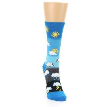 Image of Blue Weather Women's Dress Socks (side-1-front-03)