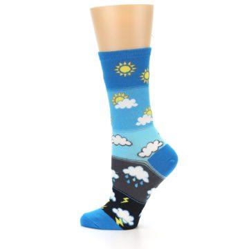 Image of Blue Weather Women's Dress Socks (side-2-12)
