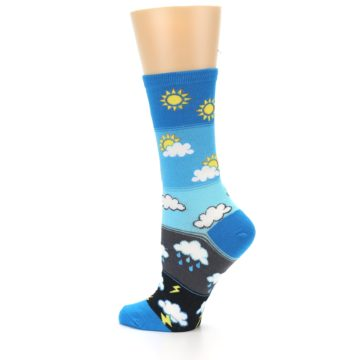 Image of Blue Weather Women's Dress Socks (side-2-13)