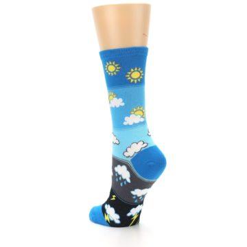 Image of Blue Weather Women's Dress Socks (side-2-back-15)
