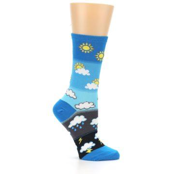 Image of Blue Weather Women's Dress Socks (side-1-25)