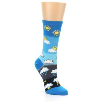 Image of Blue Weather Women's Dress Socks (side-1-27)
