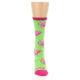 Image of Lime Pink Flamingo Women's Dress Socks (front-04)