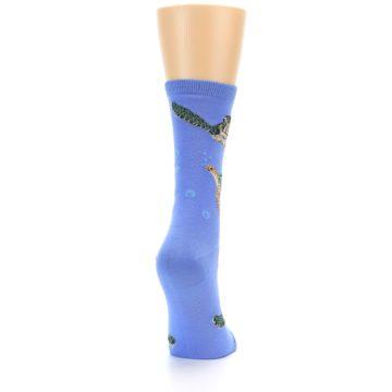 Image of Blue Sea Turtles Women's Dress Socks (side-1-back-20)