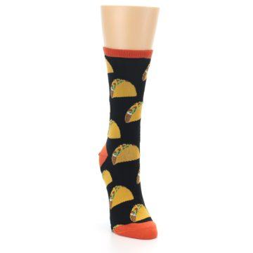 Image of Black Tacos Women's Dress Socks (side-1-front-03)