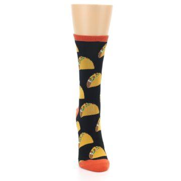 Image of Black Tacos Women's Dress Socks (front-04)