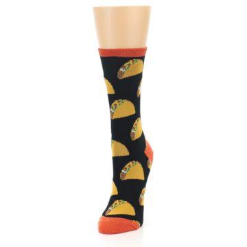 Image of Black Tacos Women's Dress Socks (side-2-front-07)