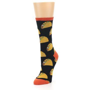 Image of Black Tacos Women's Dress Socks (side-2-front-08)