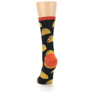 Image of Black Tacos Women's Dress Socks (back-17)