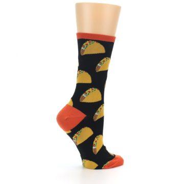 Image of Black Tacos Women's Dress Socks (side-1-24)