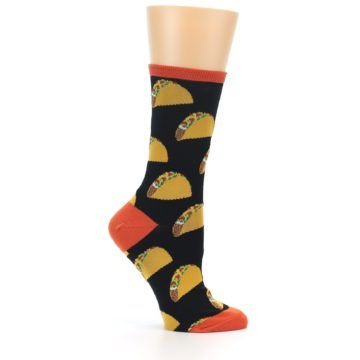 Image of Black Tacos Women's Dress Socks (side-1-25)