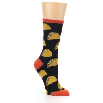 Image of Black Tacos Women's Dress Socks (side-1-27)