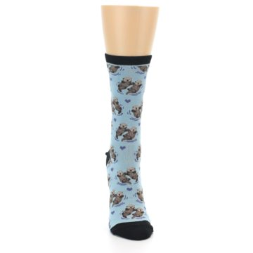 Image of Blue Significant Otter Women's Dress Socks (front-04)
