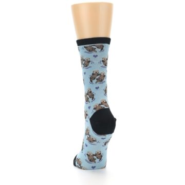 Image of Blue Significant Otter Women's Dress Socks (back-17)